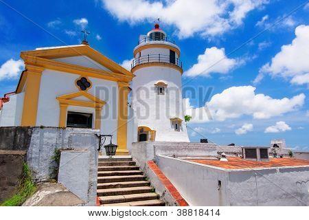 Guia Lighthouse, Fortress and Chapel, Macau.