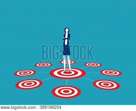 Leader Network Or Multi Level Marketing Concept