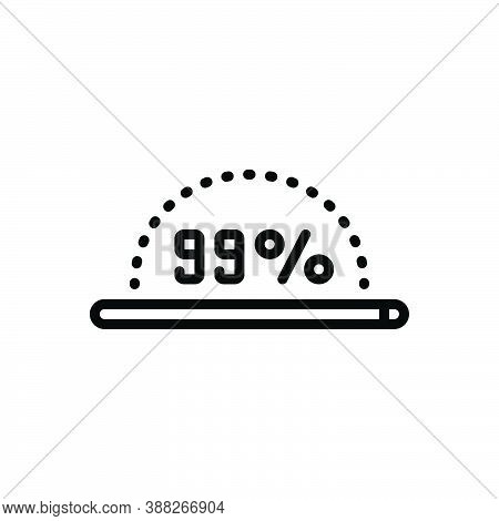 Black Line Icon For Almost Nearly Approximate Around Circa Just-about Virtually Download