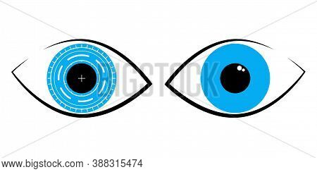 Vector Logo For International Ophthalmology Day World Sight Day Annually Indicating The Importance O
