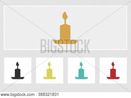 Candles Flame, Candles Realistic, Candles Vector, Candle Light, . Candle Light Border Design.