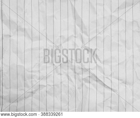 White Clumped Paper Texture Background With Vertical Line, Kraft Paper Horizontal With Unique Design