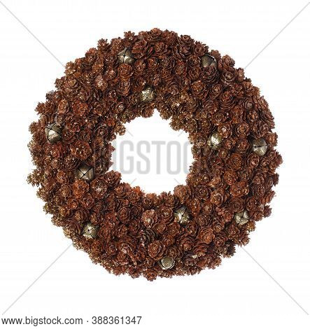Decoration Christmas Wreath. Christmas Holiday Season Toy.