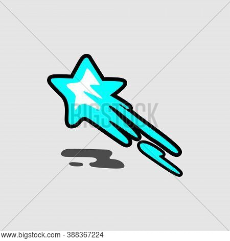 Star Logo, Light Blue Star Logo, Star Icon Vector, Eps10 Star Icon, Star Icon Image, Star Icon, Eps1