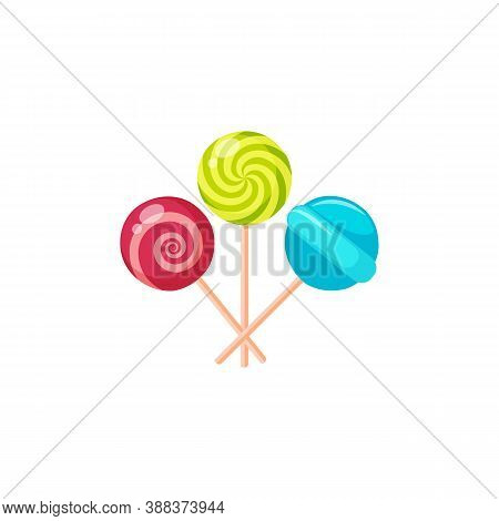 Candy Icon Isolated On White Background From Sweets And Candies Collection. Candy Icon Trendy And Mo
