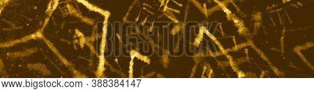 Bohemian Design. Marble Artistic Geometric Wallpaper. Brightly Ink Drawn Stripes. Glitter Vintage Te