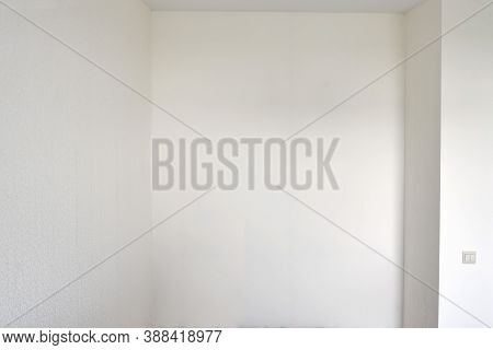 Empty Niche In The Bedroom For A Built-in Wardrobe, Background