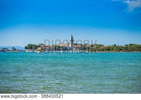 Old Town Of Osor Between Islands Cres And Losinj, Adriatic Sea, Croatia