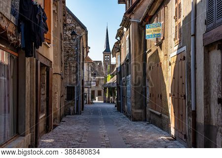 Mens, France - Sep 19, 2020: Mens, Local Authorities Association Of Trieves In Vercors, French Alps,