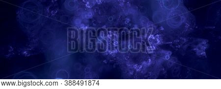 Computer Generated Purple Fractal Abstract Purple Background