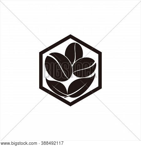 Coffee. Coffee Bean Icon. Coffee Bean On White Background. Simple Coffee Bean Icon. Coffee Bean Icon