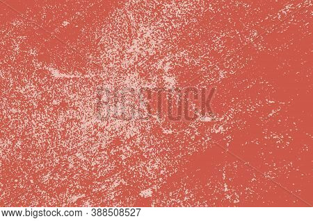 Red Distress Urban Used Texture. Grunge Rough Dirty Background. Brushed Black Paint Cover. Aged Grai