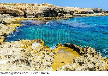 Marine Protected Area Of Plemmirio, Syracuse, Sicily
