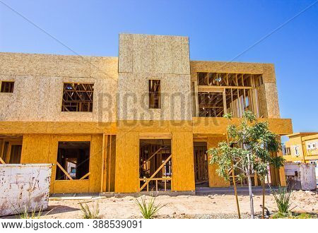 New Two Story Apartment Complex Under Construction