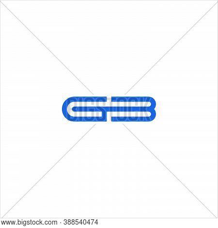 Initial Letter Gb Logo Or Bg Logo Vector Design Template