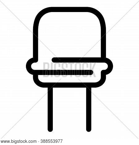 Component Capacitor Icon. Outline Component Capacitor Vector Icon For Web Design Isolated On White B