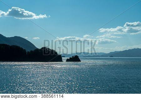 Islands Of The Seto Inland Sea. Ikuchijima, Omishima, Takaneshima, Hakatajima. Geiyo Islands, Japan