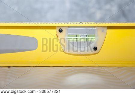 Spirit Level With Swivel Capsule. Measuring Equipment Used In Repair And Building. Waterpas. Measure