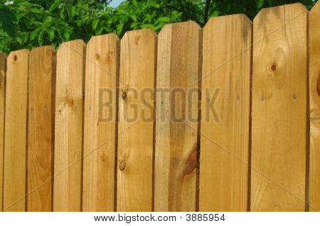 Wooden Fence Detail