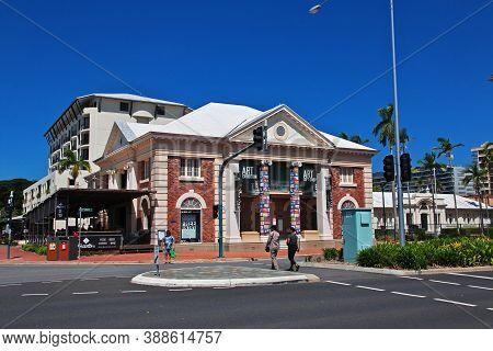 Cairns, Queensland, Australia - 03 Jan 2019: The Museum In Cairns City, Queensland, Australia