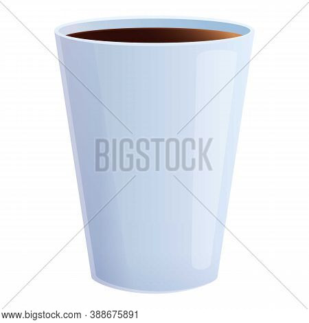 Coffee Mug Icon. Cartoon Of Coffee Mug Vector Icon For Web Design Isolated On White Background