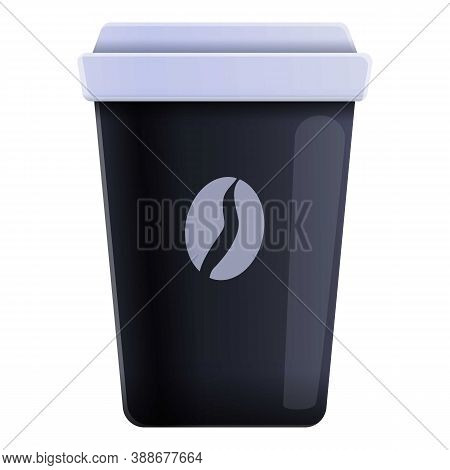 Mocha Coffee Cup Icon. Cartoon Of Mocha Coffee Cup Vector Icon For Web Design Isolated On White Back