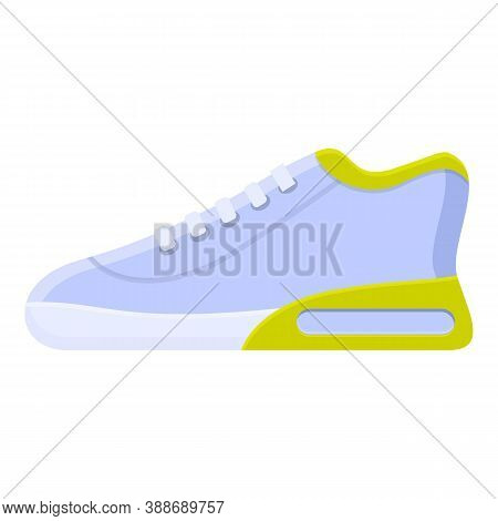 Gym Sneaker Icon. Cartoon Of Gym Sneaker Vector Icon For Web Design Isolated On White Background