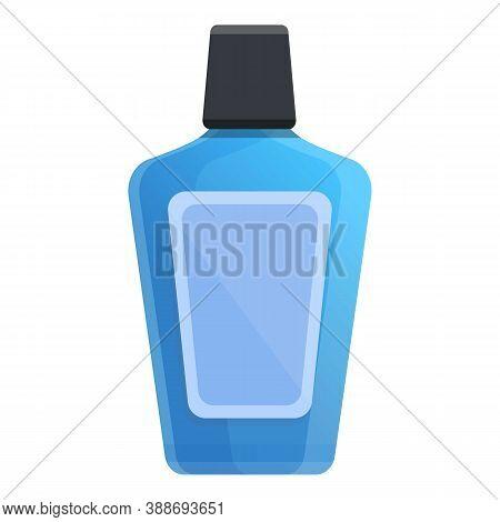 Mouthwash Icon. Cartoon Of Mouthwash Vector Icon For Web Design Isolated On White Background
