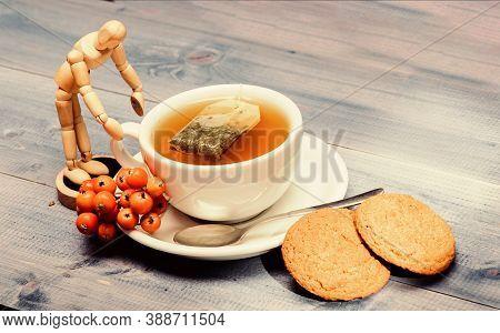 Cafe Menu. Berry Tea. Ceramic Cup Hot Fresh Brewed Tea Beverage. Health Care Folk Remedies. Drink Ar
