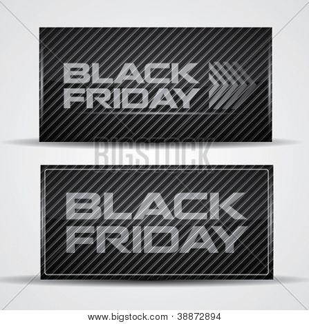 Trendy Black Friday card