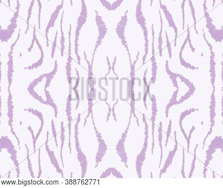 Tribal Background. Abstract Animal Banner. Psychedelic Zebra Stripes. Wildlife Leather Design. Seaml