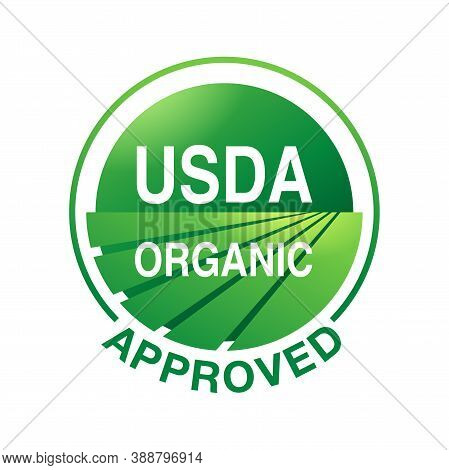Usda (united States Agriculture Department) Organic Approved Emblem - Conformity Of Laws Related To