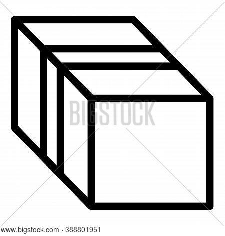 Export Box Icon. Outline Export Box Vector Icon For Web Design Isolated On White Background