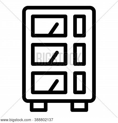 Voltage Regulator Icon. Outline Voltage Regulator Vector Icon For Web Design Isolated On White Backg