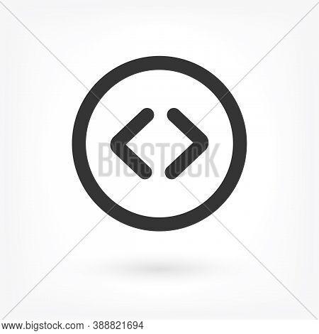 Arrow Vector Icon . Lorem Ipsum Illustration Design