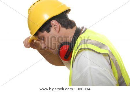 Builder Looking Down