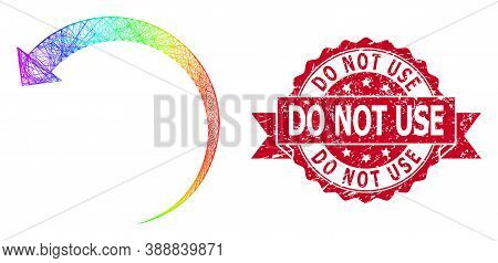 Spectrum Vibrant Network Rotate Backward, And Do Not Use Textured Ribbon Stamp. Red Stamp Contains D