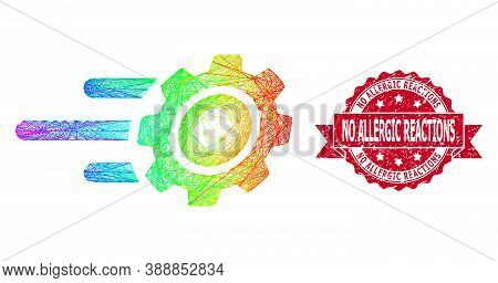 Bright Colored Wire Frame Rush Gear, And No Allergic Reactions Dirty Ribbon Seal Print. Red Stamp Se