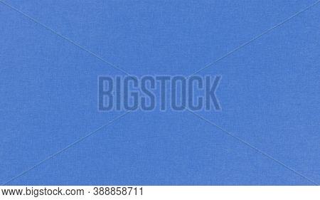 Blue Paper Texture Background, Kraft Paper Horizontal With Unique Design Of Paper, Soft Natural Pape