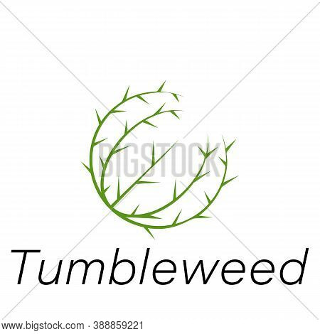 Tumbleweed Hand Draw Icon. Element Of Farming Illustration Icons. Signs And Symbols Can Be Used For