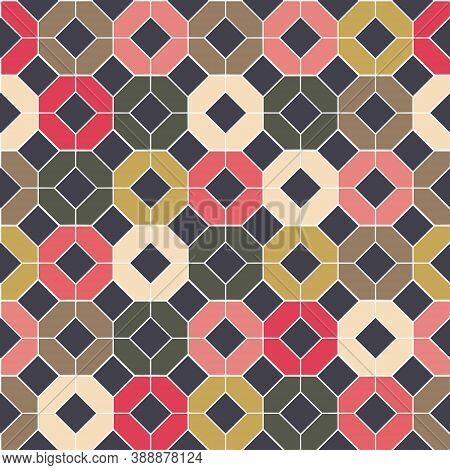 Tiles - Seamless Pattern. For Wallpaper, Backgrounds, Decoration For Your Design, Ceramic, Page Fill