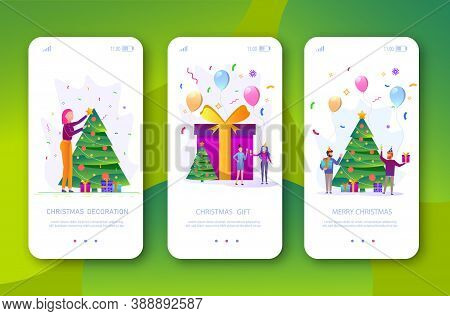 Merry christmas. The company of young people celebrates the new year.Merry Christmas card vector Illustration.Christmas. Christmas Vector. Christmas Background. Merry Christmas Vector. Merry Christmas banner. Christmas illustrations