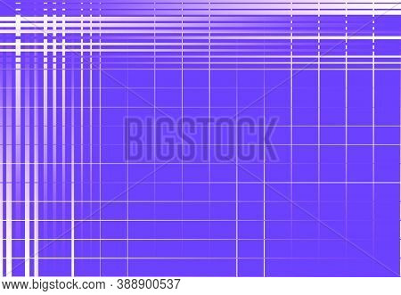 Grid, Mesh, Lattice Or Grating. Intersected Lines Vector