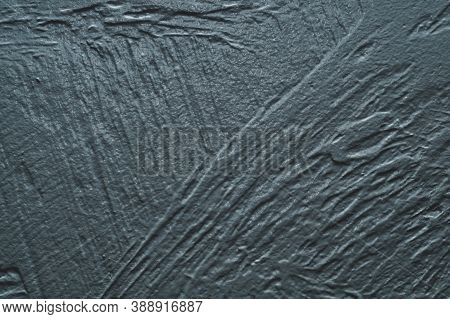 Gray Concrete Texture. Rough Painted Background. Uneven Cement Wall