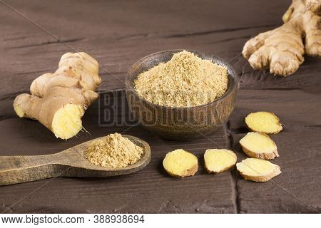 Ginger Root And Ginger Powder - Zingiber Officinale