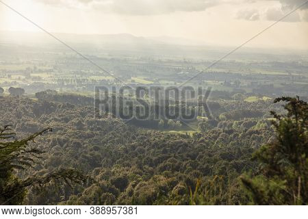 Kaimai Mamaku Lookout, An Observation Deck In State Hwy 29 In Waikato New Zealand