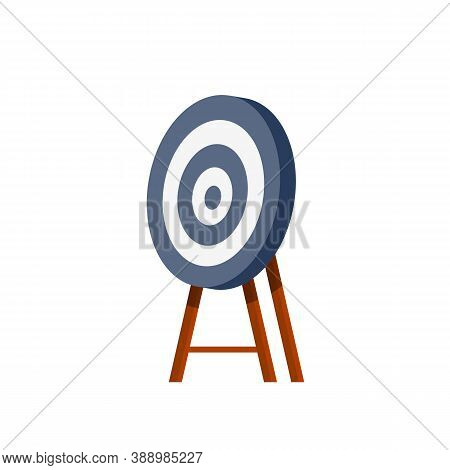 Target For Arrows. Business Concept Several Attempts