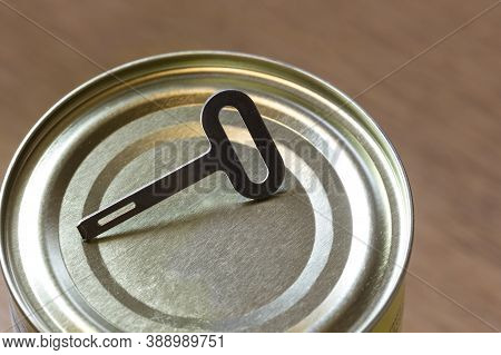 Old Fashion Can Opener Key Close Up