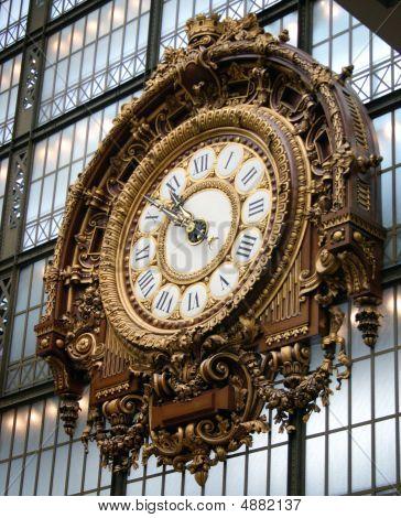 The Clock At Musee D'orsay