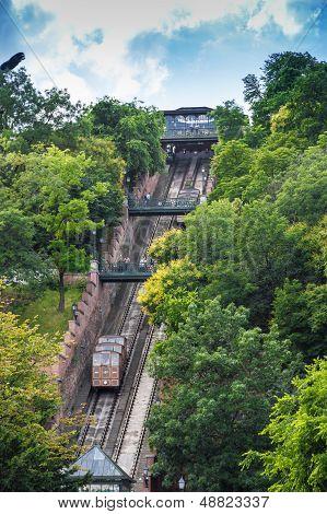 Budapest Funicular, Hungary